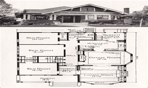 1930s bungalow floor plans simple small house floor plans vintage bungalow floor
