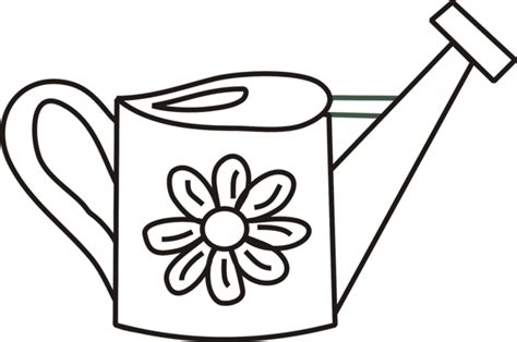 watering can coloring pages for kids clipart best