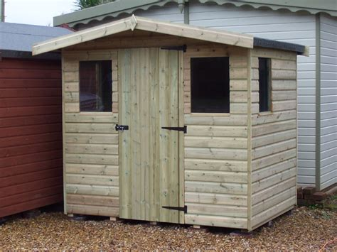Pitched Roof Shed iow garden shed centre economy apex shed low