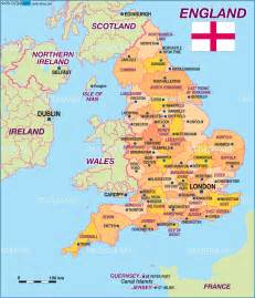 England World Map maps world map england