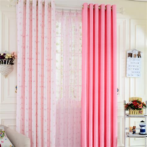 dot curtains pretty pink polka dot curtains with bow tie patterns