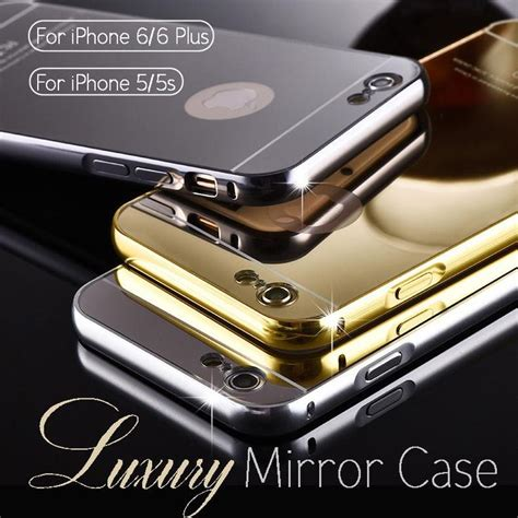 Bumper Mirror Iphone 6plus by 18 Best Mirror For Iphone 5 5s 6 6plus Black Silver