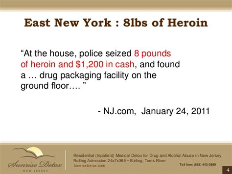 24 Hour Detox Nj by Heroin Addiction Treatment In New Jersey Bags Bundles