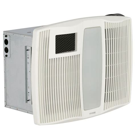 quiet bathroom exhaust fan with heater broan qtx series very quiet 110 cfm ceiling exhaust bath