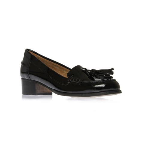 carvela kurt geiger lexie loafer shoes in black lyst