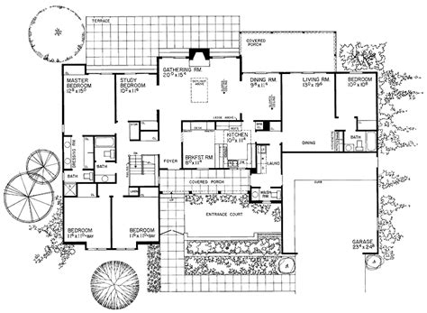 quality homes floor plans high quality one story country house plans 6 modern one