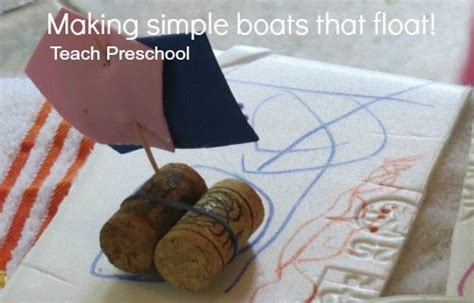 how to make a boat float making simple boats that float teach preschool