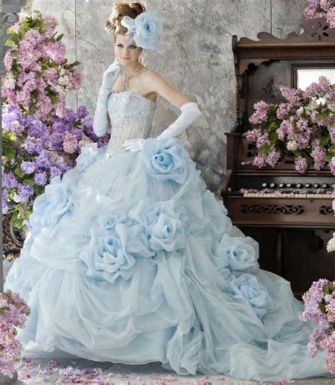 spezielle hochzeitskleider blue wedding dresses