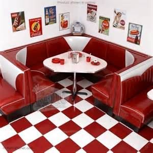 Diner Style Kitchen Table Your Kitchen Needs A Retro Diner Booth Offbeathome