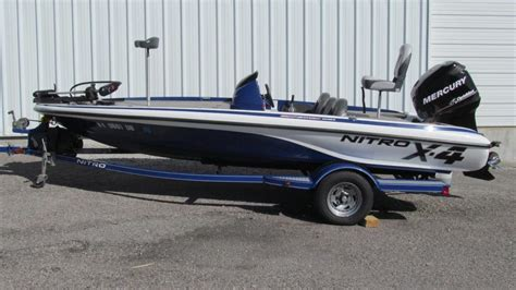 bass boat nitro x4 2009 nitro boats for sale