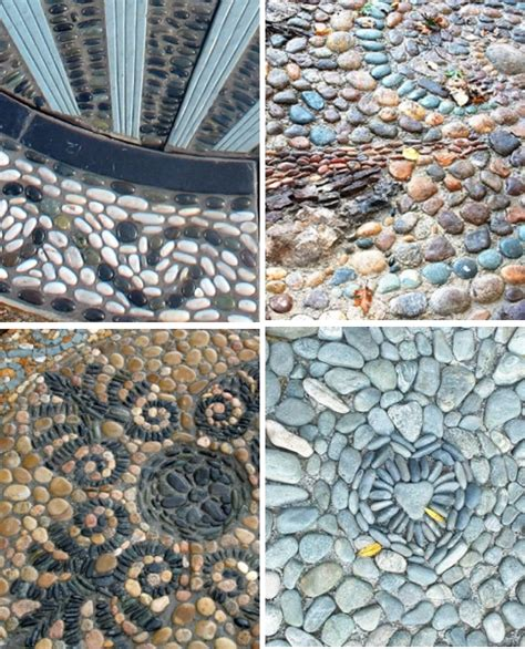 reviving the ancient art of pebble mosaics