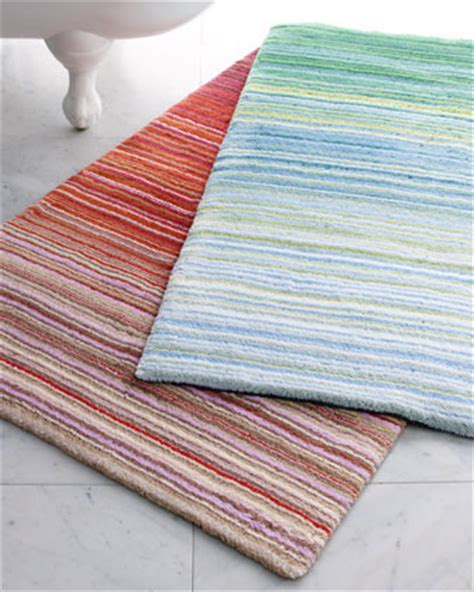 striped bath rug greenwich striped bath rug traditional bath mats by