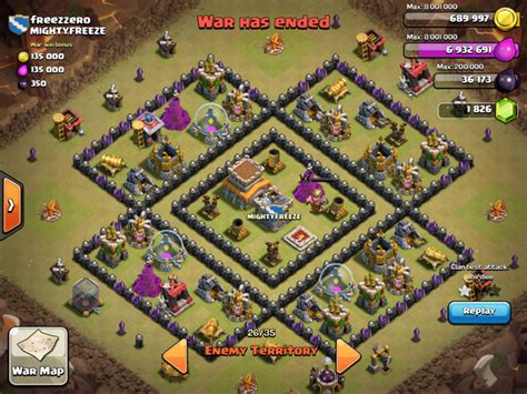 layout coc th 8 untuk war 1 th8 bases recommended clash of clans