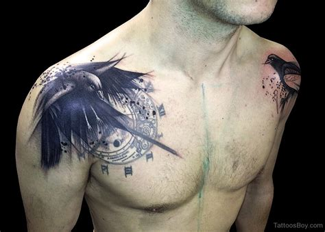 chest to shoulder tattoo tattoos designs pictures page 11