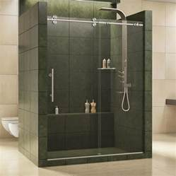 lowes sliding shower doors shop dreamline enigma 56 in to 60 in w x 79 in h frameless