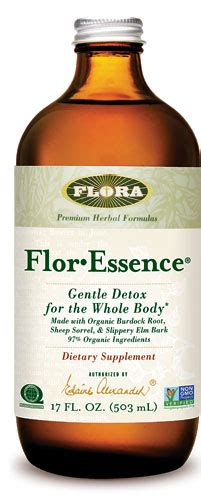 Flora Flor Essence Gentle Detox For The Whole by Flora Flor Essence Gentle Detox For The Whole 17 Fl