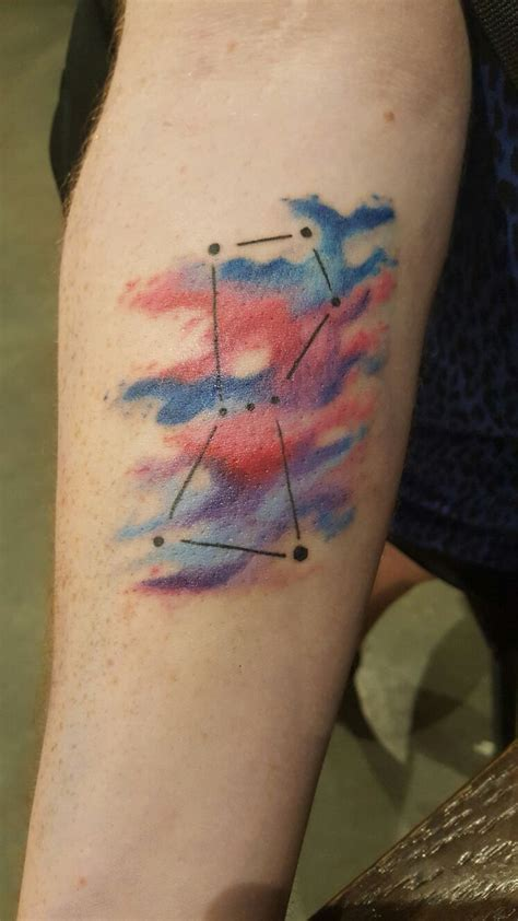 orion constellation tattoo 1000 ideas about on