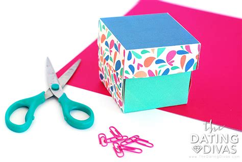 explosion box tutorial simple how to make an explosion box card the dating divas