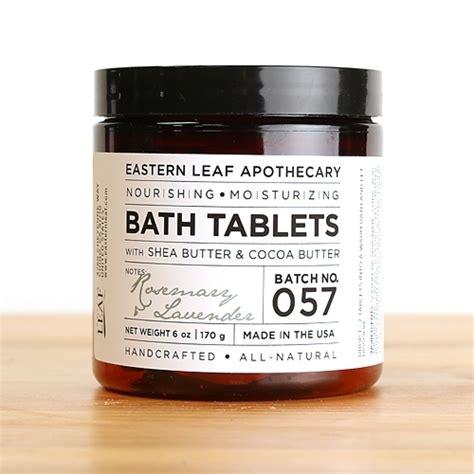 rosemary lavender bath tablets