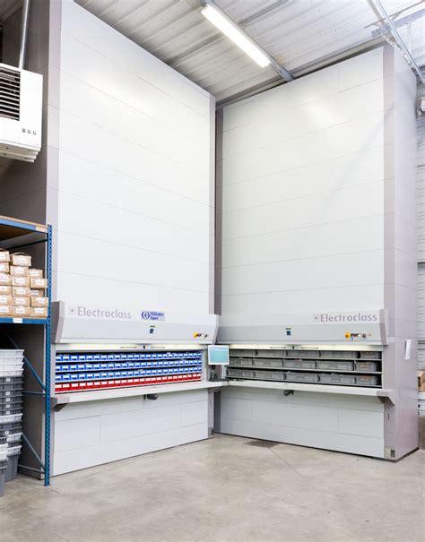 Armoire Automatique stockeurs rotatifs verticaux ou paternosters tous les