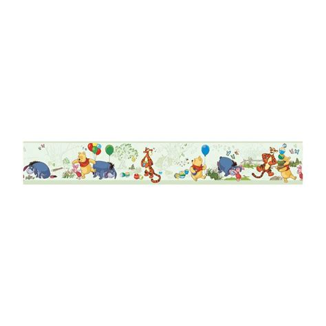 Disney Wallpaper Home Depot | disney disney kids pooh and friends wallpaper border