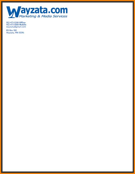 Business Letterhead Definition Exles Of Letterheads Letterhead Png Letterhead Template Sle