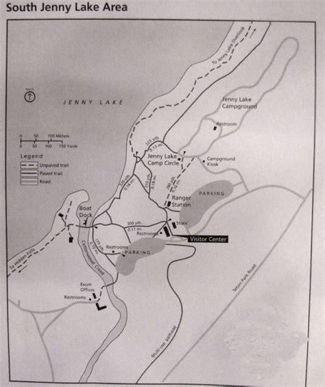 map grand cgrounds map of lake cground grand teton national park