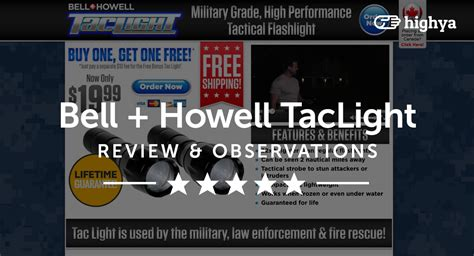 bell and howell tac light flashlight taclight by bell howell reviews is it a scam or legit