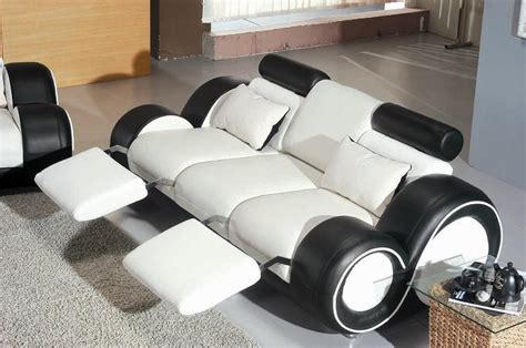 4088 contemporary black and white sofa set sofa sets