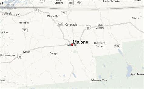 malone ny map malone location guide