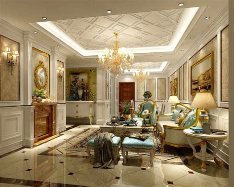 european home interior design interior european style living room design 3d cgtrader