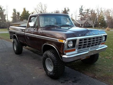 ford f 150 truck bed for sale purchase used 1978 ford f 150 4x4 long bed very nice