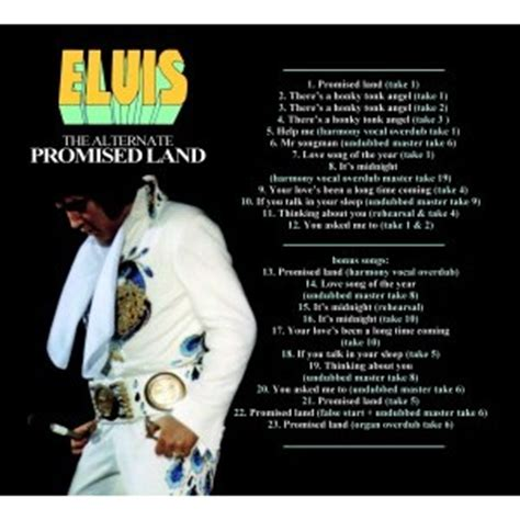 the promise an elvis elvis presley elvis presley the alternate promised land cd digipack 24 outtakes cd for sale