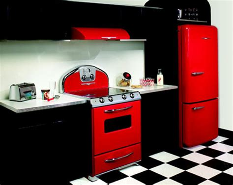 retro style kitchen appliances interior design trend spotting vintage retro appliances