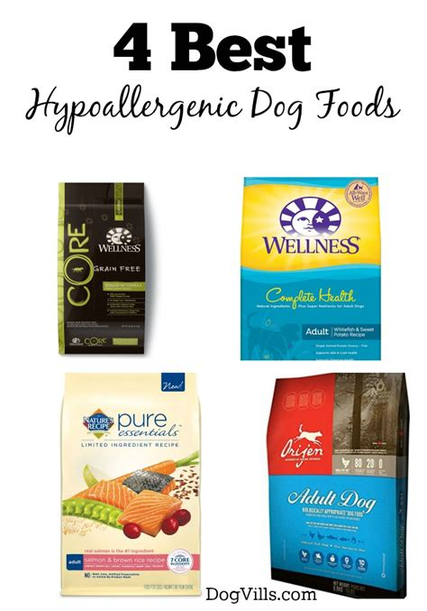 top puppy food 4 best hypoallergenic foods dogvills