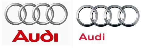 Audi Schriftart by Audi Poliert Sein Logo Auf Fontblog