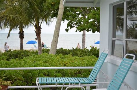 blue dolphin cottages sanibel all rooms are beachfront picture taken from porch