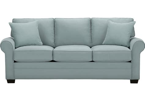 cindy crawford home sofa cindy crawford home bellingham hydra sofa sofas blue
