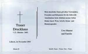 Trauerbrief Schreiben Muster Trauerkarten Trauerbriefe Dankeskarten Beispiele Muster
