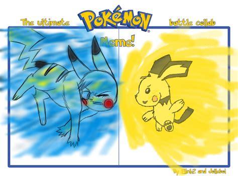 Pokemon Battle Meme - pokemon battle meme collab by sithdog1 on deviantart