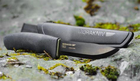 mora bushcraft black survival mora bushcraft carbon black knife muted