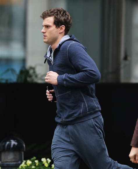 fifty shades of grey cast jamie dornan jamie dornan increased his heart rate while filming the