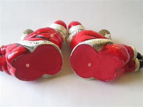 Vintage 1950 S Paper Mache - santa claus vintage 1950s paper mache candle holders japan