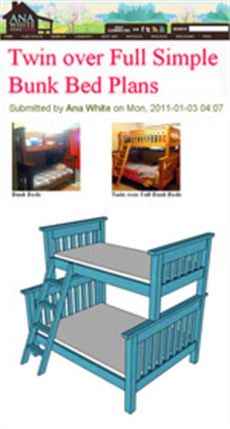 bunk bed plans   build  bunkbed