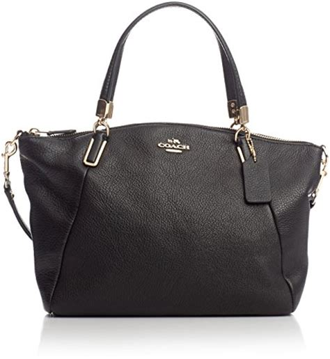 Ready Coach Kelsey Small Black galleon coach pebble leather small kelsey satchel 34493 black