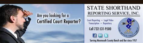 jersey shore reporting certified shorthand court court reporting nj litigation support services