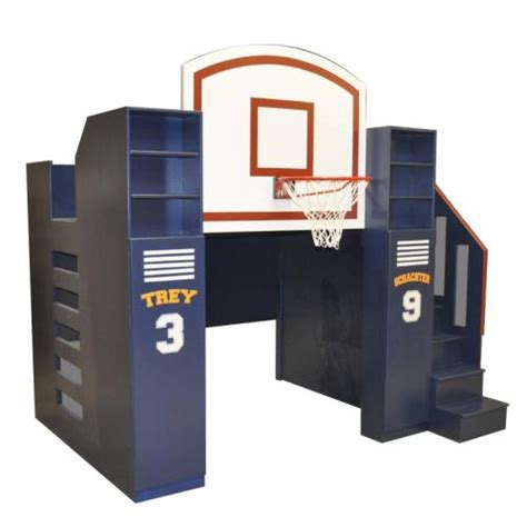 Sports Toddler Bed by Basketball Bunk Bed