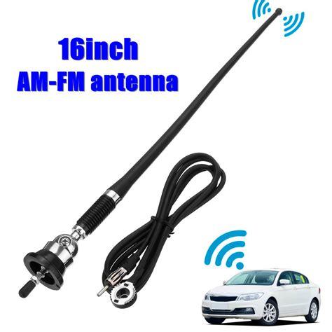 16 inch universal car auto roof for fender radio am fm signal antenna aerial extend alexnld