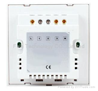 one touch dimmer switch of home automation smart