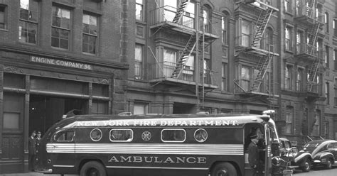 fan company service department fdny ambulance 1949 photos fdny turns 150